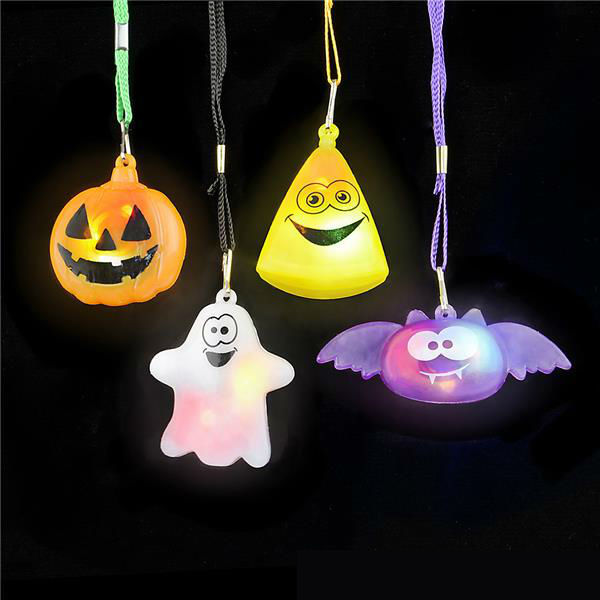 wholesale halloween light up flashing necklace assortment. Black Bedroom Furniture Sets. Home Design Ideas