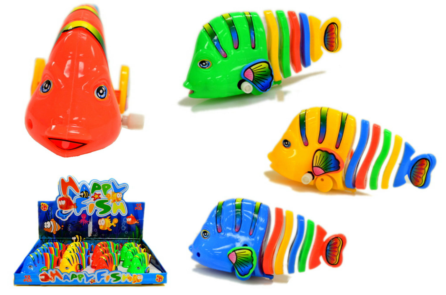 Wholesale wind up tropical fish toy sku 2182511 dollardays for Wholesale tropical fish