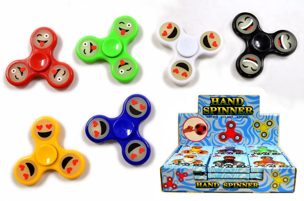 Emoji Glow in the Dark Fidget Hand Spinners (2270102)