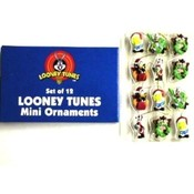 Looney Tunes Set of 12 Mini Christmas Ornaments