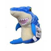 "10"" Battery Operated Plush Toy Shark"