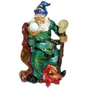 "4"" Poly resin Wizard"
