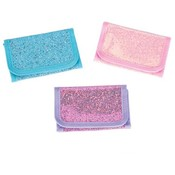 Assorted Color Glitter Wallets
