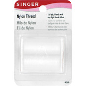 Singer Nylon Thread 135 Yards-Clear Wholesale Bulk