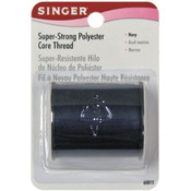 Singer Super Strong Polyester Core Thread 200 Yards-Navy Wholesale Bulk