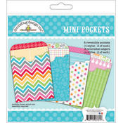 Doodlebug Take Note Paper Craft Kit-Mini Pockets Wholesale Bulk