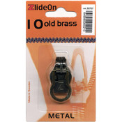 ZlideOn Zipper Pull Replacements Metal 10-Old Bras