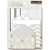 Teresa Collins Memories Envelopes 4/Pkg Wholesale Bulk