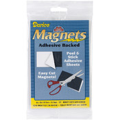 Darice Sticky Back Magnet Sheet 4'X6' 3/Pkg Wholesale Bulk