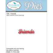 Elizabeth Craft Designs Elizabeth Craft Metal Die-Friends Wholesale Bulk