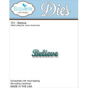 Elizabeth Craft Designs Elizabeth Craft Metal Die-Believe Wholesale Bulk