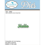 Elizabeth Craft Designs Elizabeth Craft Metal Die-Hello Wholesale Bulk