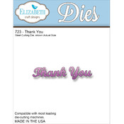 Elizabeth Craft Designs Elizabeth Craft Metal Die-Thank You Wholesale Bulk
