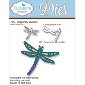 Elizabeth Craft Designs Elizabeth Craft Metal Die-Dragon Overlay Wholesale Bulk