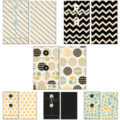 Fancy Pants Park Bench Patterned Envelopes 6/Pkg Wholesale Bulk