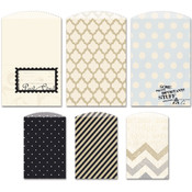 Fancy Pants Etcetera Decorative Bags 6/Pkg Wholesale Bulk