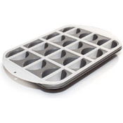 Love Cooking Company Mrs Fields Half-N-Half Cupcake Pan-16'X10.7' Wholesale Bulk