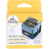 EK Success Photo Corners 250/Pkg-Clear Wholesale Bulk