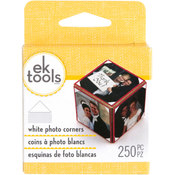 EK Success Photo Corners 250/Pkg-White Wholesale Bulk