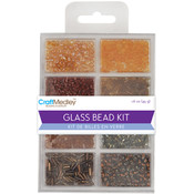Multicraft Imports Glass Bead Kit 45grams/Pkg-Nuggets Wholesale Bulk