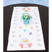 Stamped Easter Table Runner/Scarf