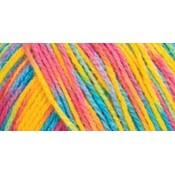 Red Heart Comfort Yarn-Happy Prints
