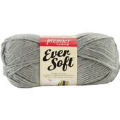 Ever Soft Yarn-Grey