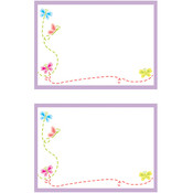 Mrs Grossman Mrs. Grossman's Small Labels - 12/Pkg. - 2.5'X3.75'-Petite Butterflies Wholesale Bulk