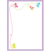 Mrs Grossman Mrs. Grossman's Large Labels - 6/Pkg. - 3.75'X5.1875'-Petite Butterflies Wholesale Bulk