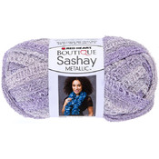 Red Heart Boutique Sashay Metallic Yarn-Icy Lilac Wholesale Bulk