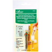 Clover Stacking Quilting Pins Fine-20/Pkg Wholesale Bulk