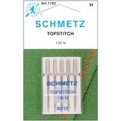 Topstitch Machine Needle-Size 12/80 5/Pkg
