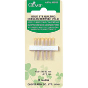 Clover Gold Eye Quilting Between Needles-Size 9 15/Pkg Wholesale Bulk