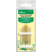 Clover Gold Eye Milliners Needles-Size 3/9 16/Pkg Wholesale Bulk