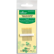 Clover Gold Eye Sharps Needles-Size 10 20/Pkg Wholesale Bulk