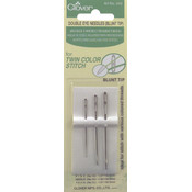 Clover Double Eye Blunt Tip Needles-Size 12/15/18 1 Each Wholesale Bulk