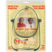 MagEyes Magnifier-#2 Single Lo - Dark Green