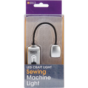 Mighty Bright Sewing Machine LED Light, Silver
