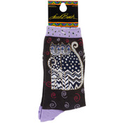K Bell Laurel Burch Socks-Polka Dot Gatos Wholesale Bulk