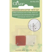 Clover Petite Needle Threader & Cutter-2/Pkg Wholesale Bulk