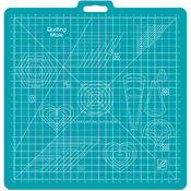 Gridded Rotary Mat With Handle-26&quot;X27&quot; w/23&quot;X23&quot; G