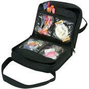 Quilted Cotton Craft Bag-8.8&quot;X10.3&quot;X3&quot; Black