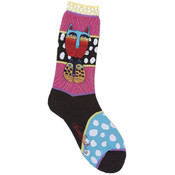 K Bell Laurel Burch Socks-Wild Cats-Multi Wholesale Bulk