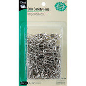 Safety Pins Size 2-200/Pkg