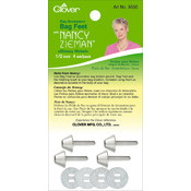 Nancy Zieman&#39;s Bag Hardware Bag Feet 1/2&quot; 4/Pkg-Gl