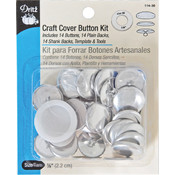 Dritz Craft Cover Button Kits, Size 36 Wholesale Bulk