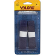 "VELCRO(R) brand Sew-On Tape 5/8""x12""-Navy"