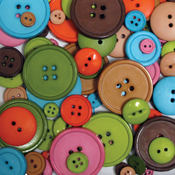 Favorite Findings Big Bag Of Buttons-Etcetera 3.5o