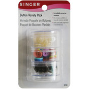 Button Variety Pack-Assorted Colors