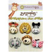 BaZooples Buttons-Gertrude & Friends